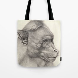 """Bloomers"" series, III (Bonnet macaque) Tote Bag"