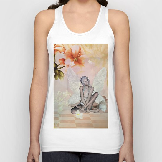 Beautiful fairy Unisex Tank Top
