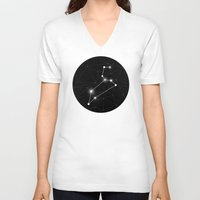constellation V-neck T-shirts featuring Constellation by Tom's Whale