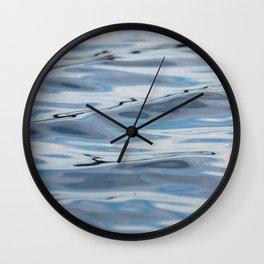 Gooseneck Ripples Wall Clock