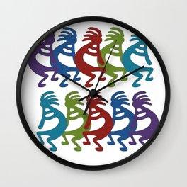 Tribal Kokopelli Wall Clock