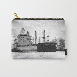 Boat on the St-Lawrence river Carry-All Pouch
