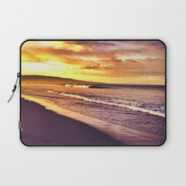 Beach Sunset California Laptop Sleeve