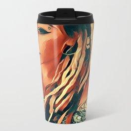 Lipstick Metal Travel Mug