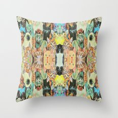 Cat Pattern Throw Pillow