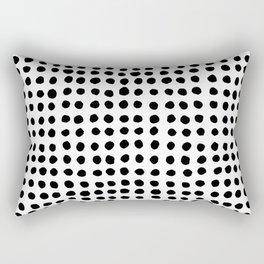 Painted Polka Rectangular Pillow