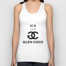 Glen Coco No. 4 Unisex Tank Top