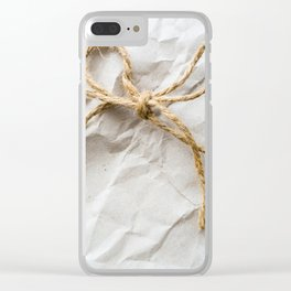 Wrapped Clear iPhone Case