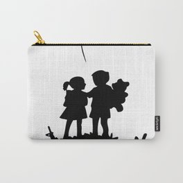 war is over banksy Carry-All Pouch