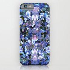 Blue Spot Floral iPhone 6s Slim Case