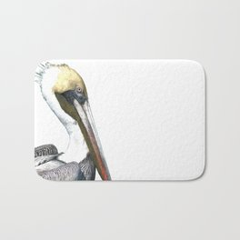 Pelican Portrait Bath Mat