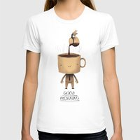 good morning T-shirts featuring good morning. by Louis Roskosch
