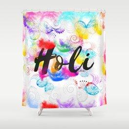 Holi Shower Curtain