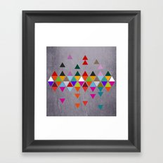 Much more clear now Framed Art Print