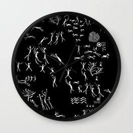 Rupestre Wall Clock