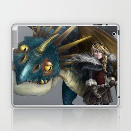 astrid & stormfly HOW TO TRAIN YOUR DRAGON 2 Laptop & iPad Skin