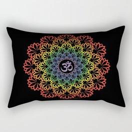 Namaste Lotus (Plain) Rectangular Pillow