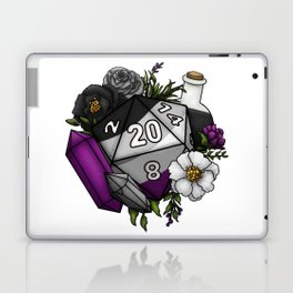 Pride Asexual D20 Tabletop RPG Gaming Dice Laptop & iPad Skin