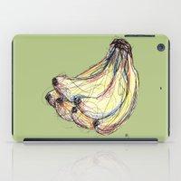 banana iPad Cases featuring Banana by Ursula Rodgers
