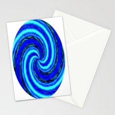 Blue Ball Swirl Stationery Cards