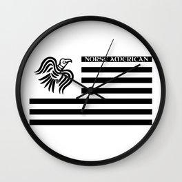 Norse American Wall Clock
