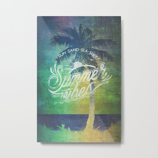 Summer vibes - Mashup edition Metal Print