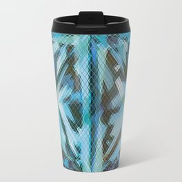 Flare of Teal Travel Mug