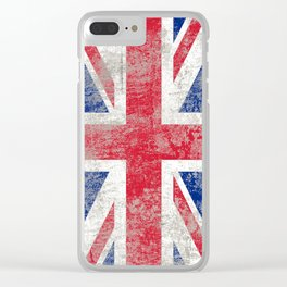 Rule Britannia (Union Jack) Clear iPhone Case