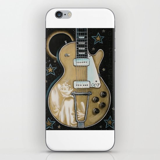 Goldfinger Gretsch iPhone & iPod Skin