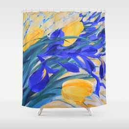 ABOUT SPRING Shower Curtain