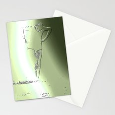 Woman Emerging (d) Stationery Cards