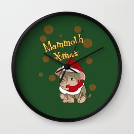 Mammoth Xmas!! (c) 2017 Wall Clock