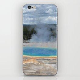 Grand Prismatic Springs,Yellowstone iPhone Skin