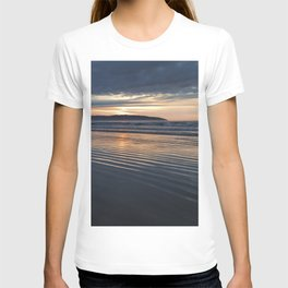 Benone Beach - Sunset T-shirt