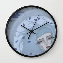 Celestial Selkie Wall Clock