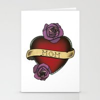 mom Stationery Cards featuring Mom by CCL Works