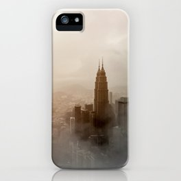 Petronas Towers Kuala Lumpur iPhone Case