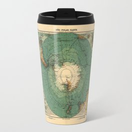 Map of Antarctica from 1912 (Süd-Polar-Karte) Travel Mug