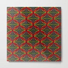 Kawung Tripp Metal Print