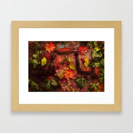 With these tools Framed Art Print