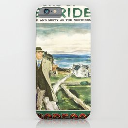 retro Hebrides iPhone Case