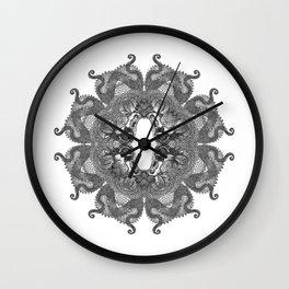 16 dragons Wall Clock