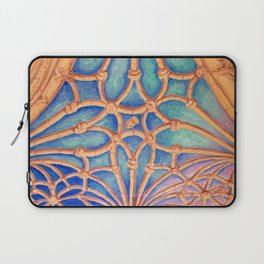 Geometry in the cloister Laptop Sleeve