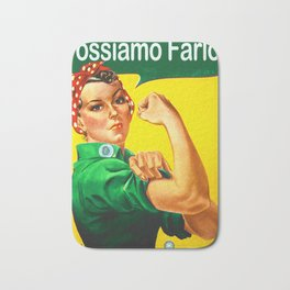 Italian Rosie Bath Mat