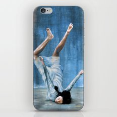 Almost Blue iPhone & iPod Skin