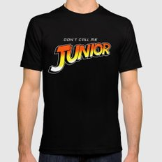 Don't Call Me Junior Black Mens Fitted Tee MEDIUM