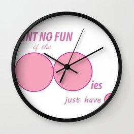 Raising Breast Cancer Awareness Wall Clock