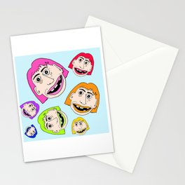 Rainbow Sister Stationery Cards
