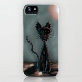 Night Cat iPhone Case