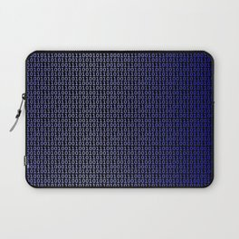 Binary Blue Laptop Sleeve